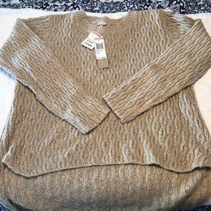 NWT tan sweater